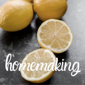 homemaking lemons kitchen