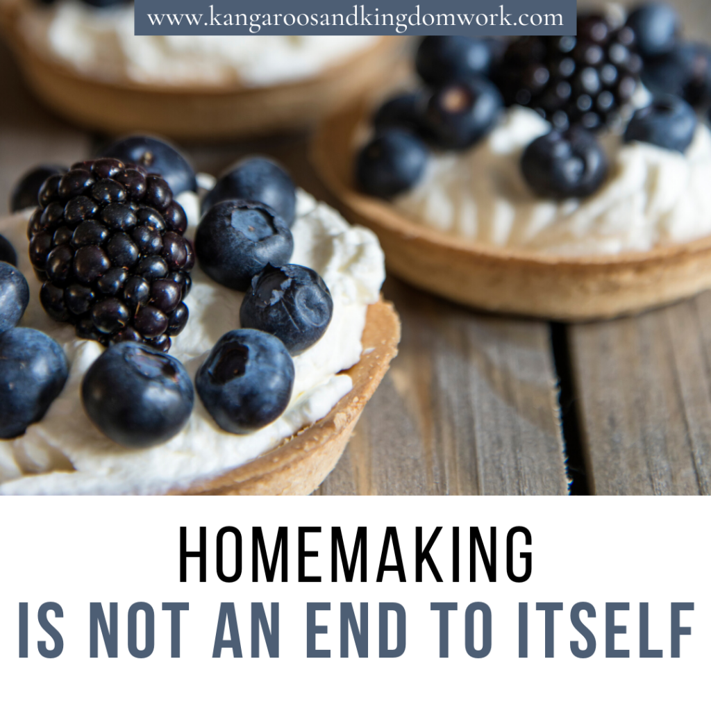 the purpose of biblical homemaking