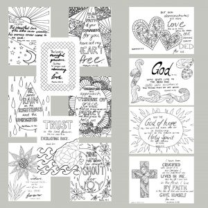 free kids bible verse colouring pages