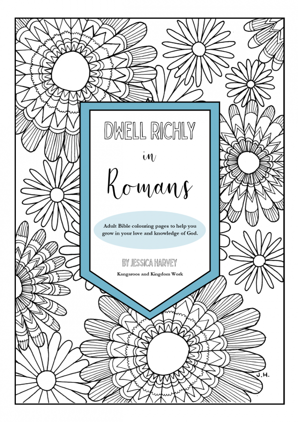 adult bible colouring book romans
