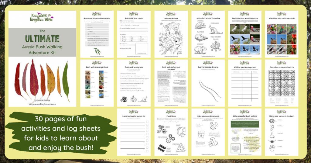ultimate bushwalking printables kit