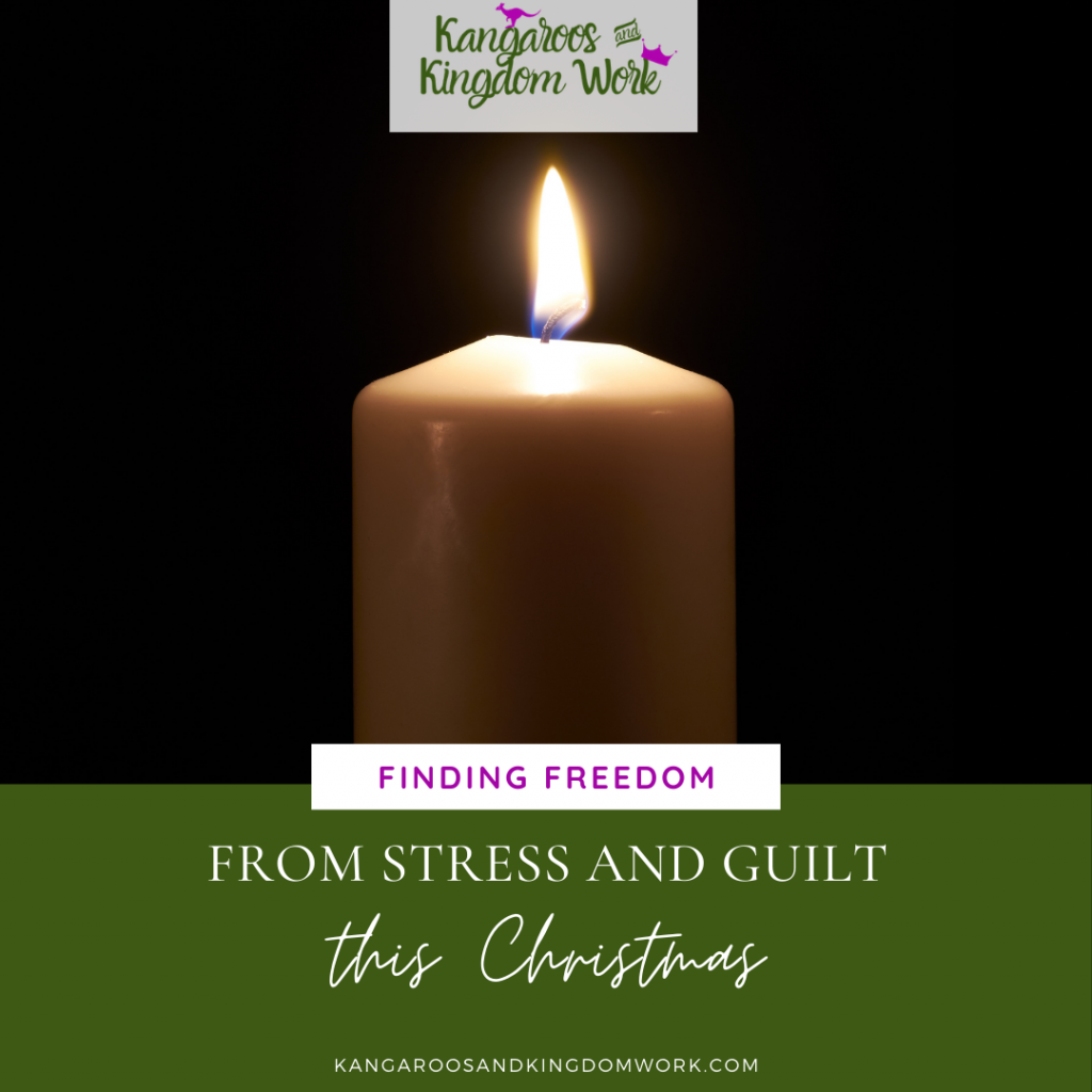finding freedom from stress and guilt at christmas