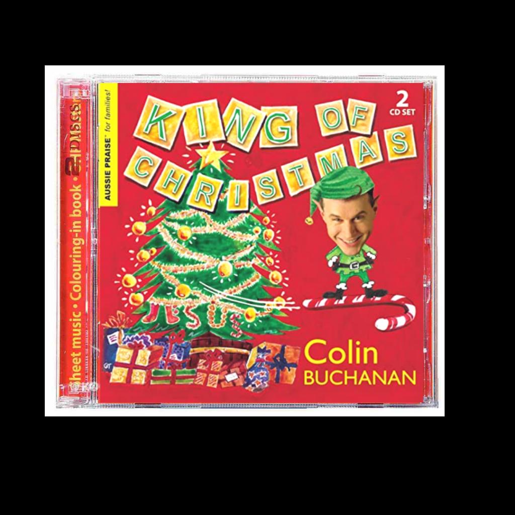 colin buchanan king of christmas cd review