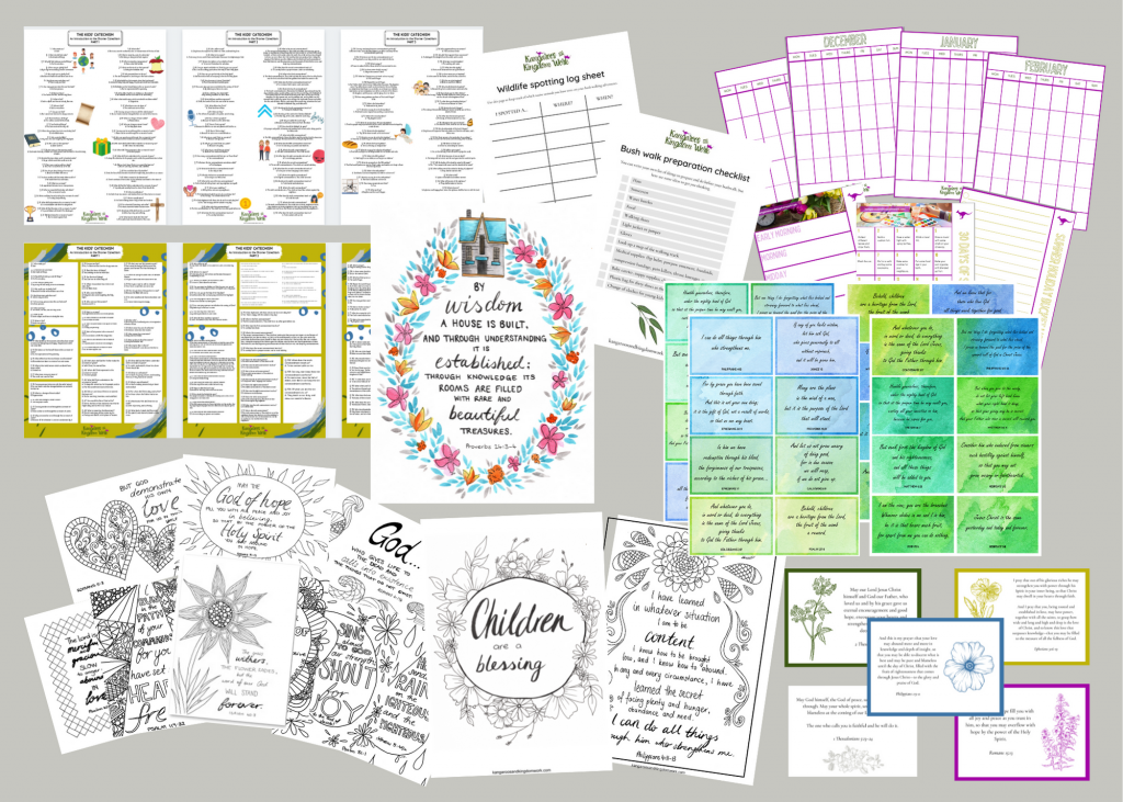 free printable catechism posters colouring pages bible verse cards