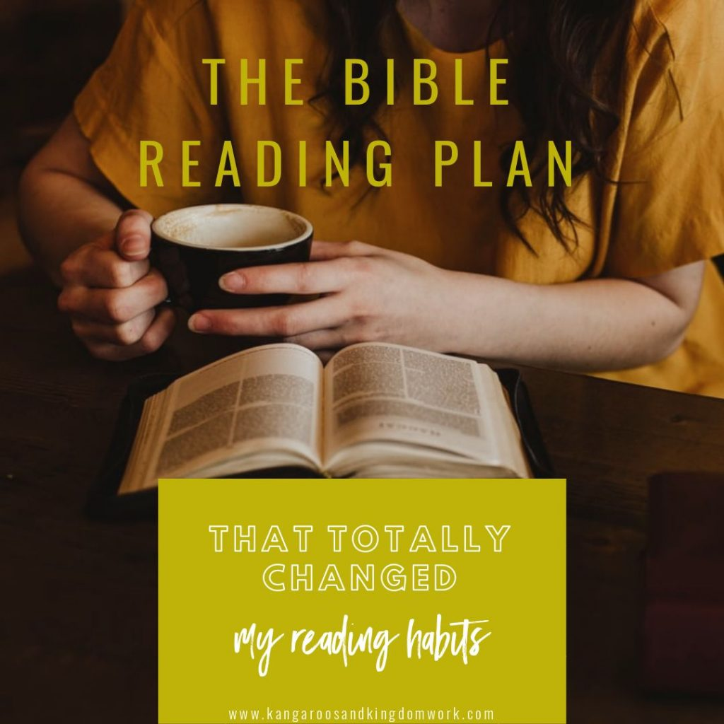 bible reading plan that totally changed my habits