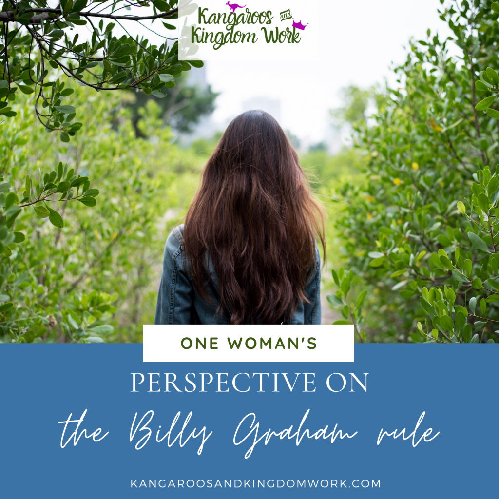 billy graham rule woman's perspective